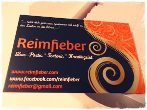 Visitenkarten Reimfieber